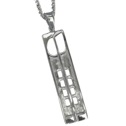 "230 Cairn® Sterling silver Charles Rennie Mackintosh necklace ""Hill House"""
