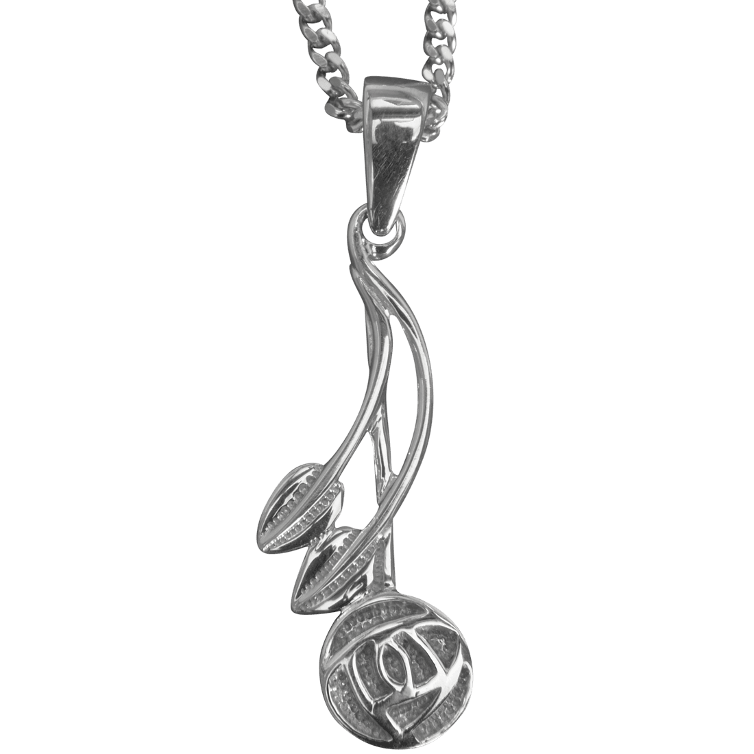 "544 Cairn® Sterling silver Charles Rennie Mackintosh necklace ""Willow"""