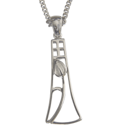 "630 Cairn® Sterling silver Charles Rennie Mackintosh necklace ""Frances"""