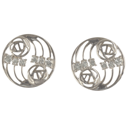 "802 Cairn® Sterling silver Charles Rennie Mackintosh earrings ""Glasgow"""